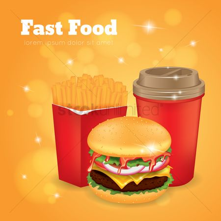 French fries : Fast food design