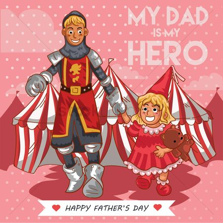 Tents : Father s day poster