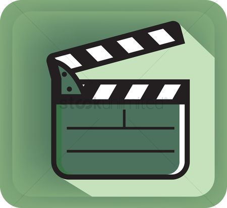 Production : Film clapboard