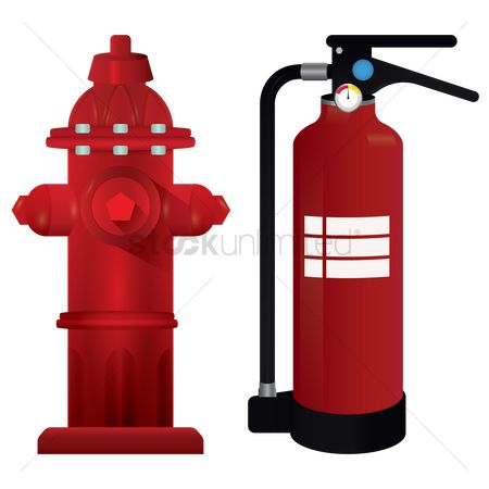 Fire extinguisher : Fire hydrant and fire extinguisher