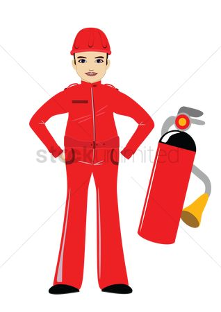 Fire extinguisher : Firefighter
