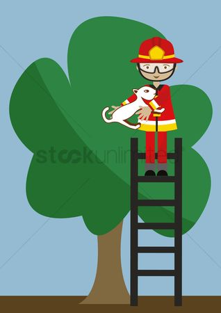 Save trees : Firefighter