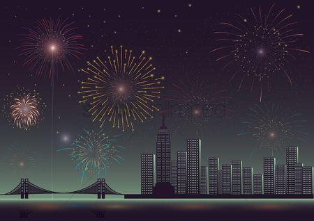 Noisy : Fireworks in the city