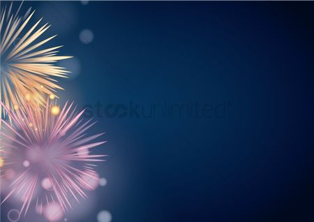 Noisy : Fireworks in the night sky