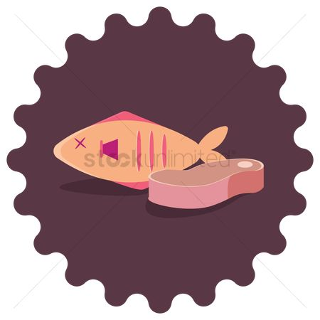 Animal : Fish and meat