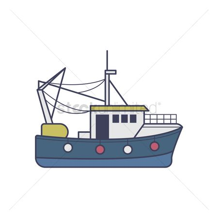Recreation : Fishing boat