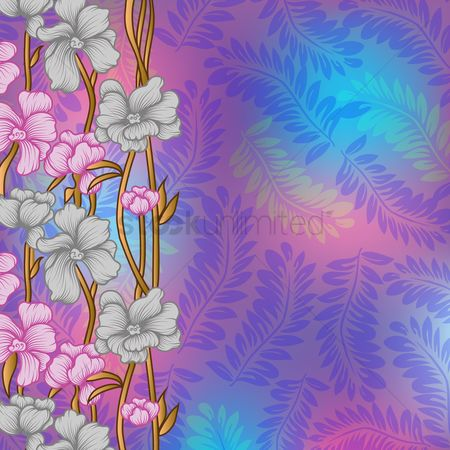 Patterns : Floral background