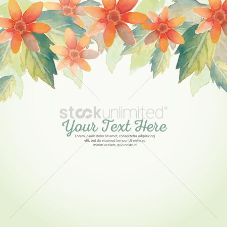 Floral : Floral background