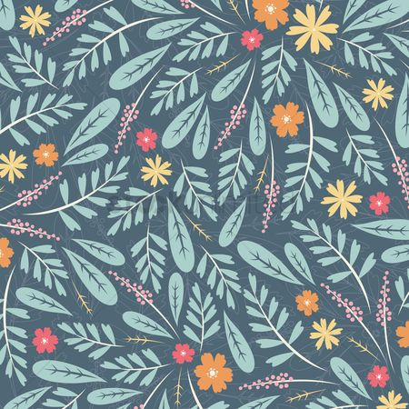 Abstract : Floral background