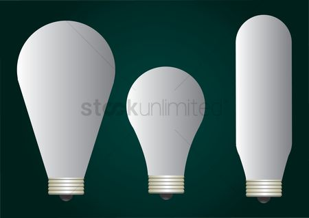 Illumination : Fluorescent bulbs
