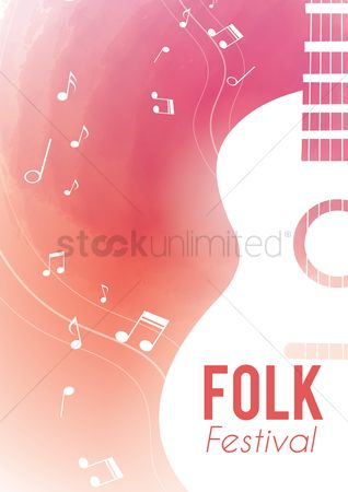 Commercials : Folk festival poster design
