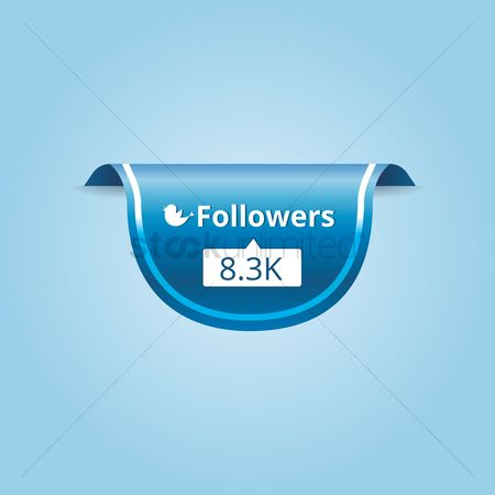 Notification : Followers counter icon