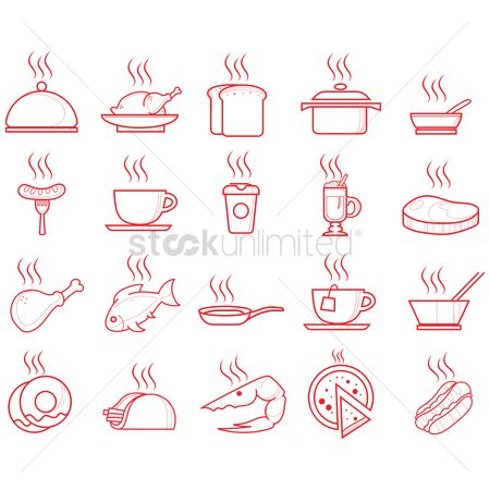 Servings : Food icons