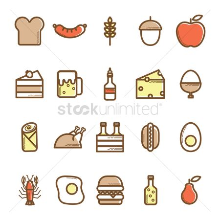 Beer mug : Food icons