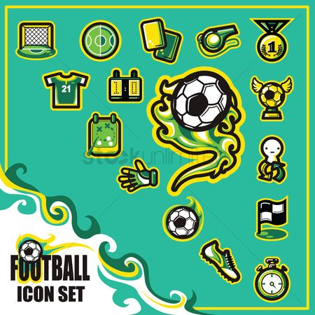 Jersey : Football icon set