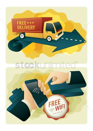 Hand truck : Free delivery and free wifi