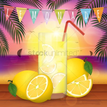 Summer : Fresh lemon juice