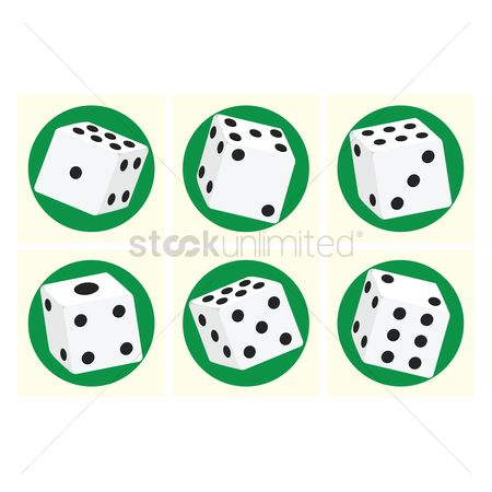 Casinos : Game dice set