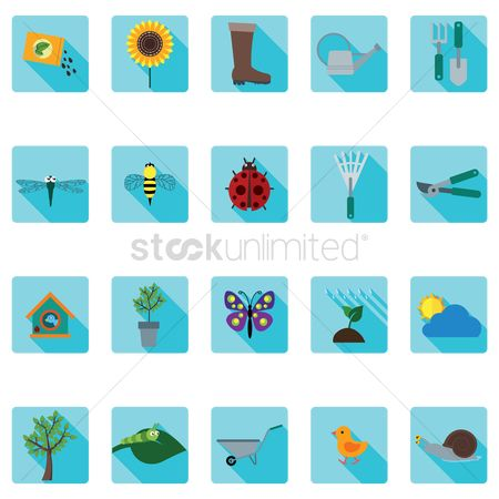 Fork : Gardening icon set
