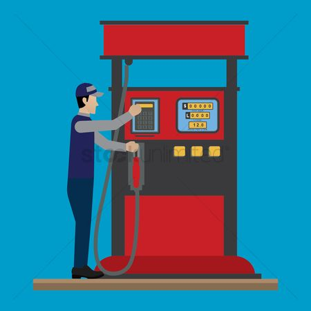 Petroleum : Gas station pump