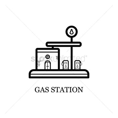 Petroleum : Gas station