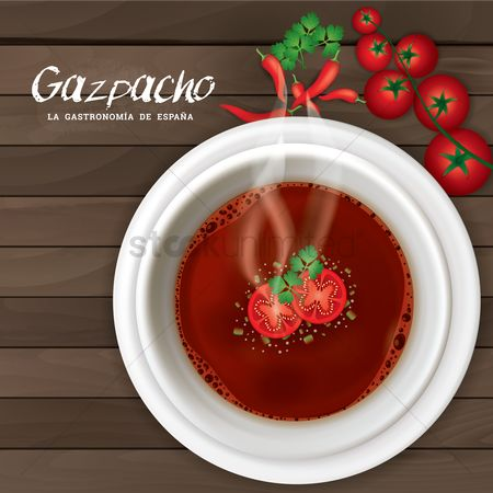 Dishes : Gazpacho