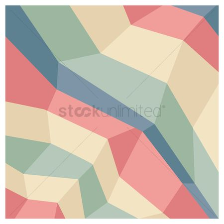 Decorations : Geometric background design