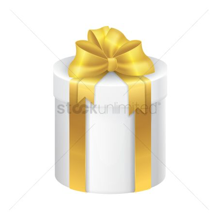 Surprise : Gift box with ribbon