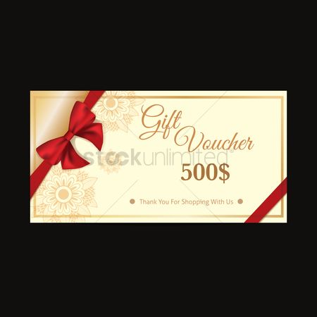 Cloth : Gift voucher design