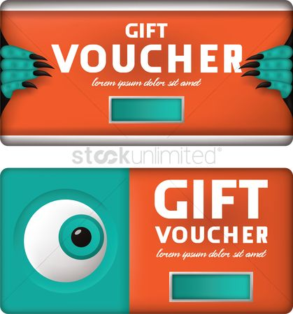 Claws : Gift voucher design