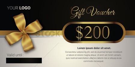 Shops : Gift voucher template