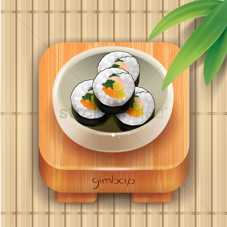 Tables : Gimbap