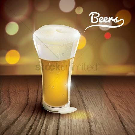 Tables : Glass of beer