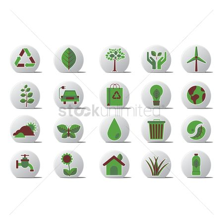 Faucets : Go green related icons