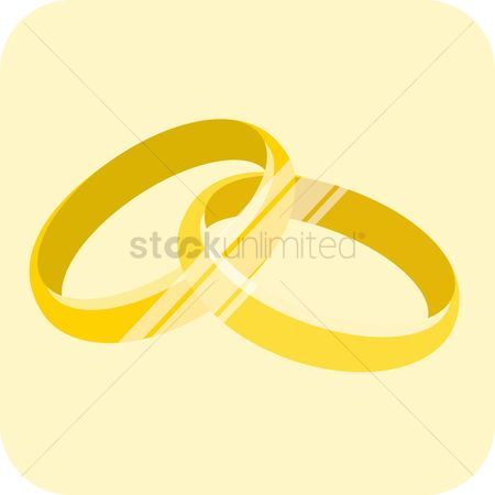 Engagements : Gold rings