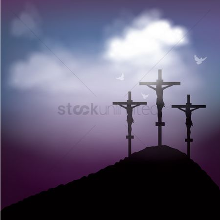 Cross : Good friday background