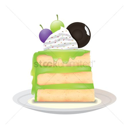 Flavor : Grape cake slice
