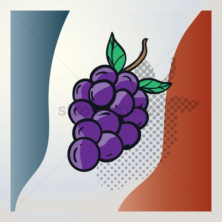 Tricolored : Grapes