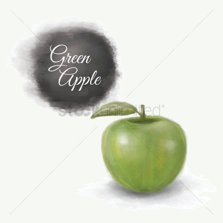 Nutritions : Green apple