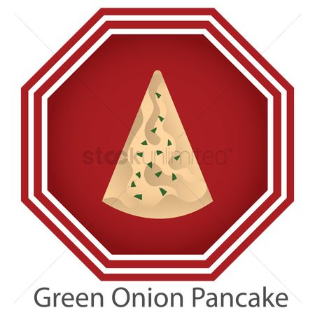 Hotcake : Green onion pancake