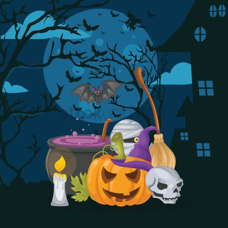 Traditions : Halloween design