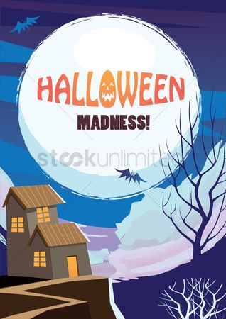 Oct : Halloween madness design