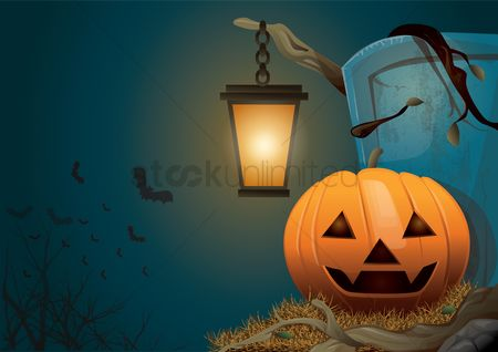 Jack o lantern : Halloween pumpkin wallpaper
