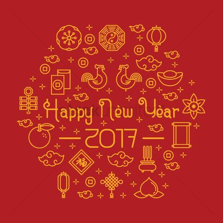 Horoscopes : Happy chinese new year greeting
