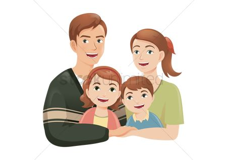 Free Parents Stock Vectors | StockUnlimited Hugging Family Clipart