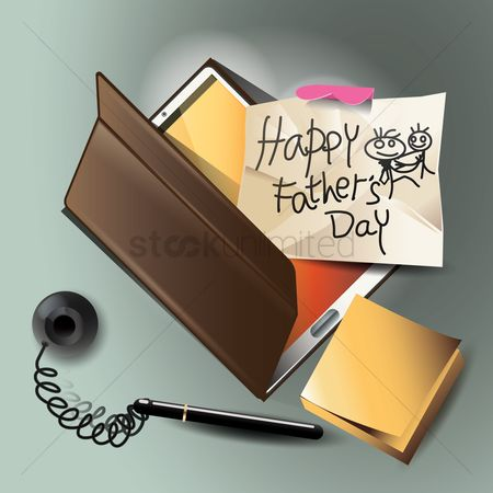 Pad : Happy father s day design