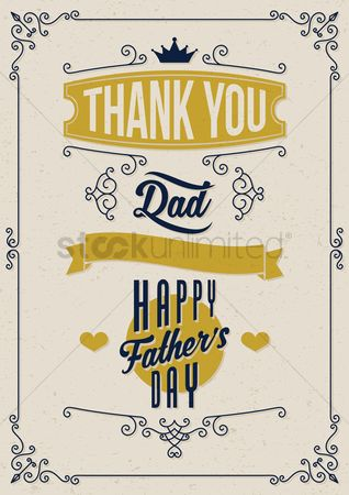 Thankful : Happy father s day design