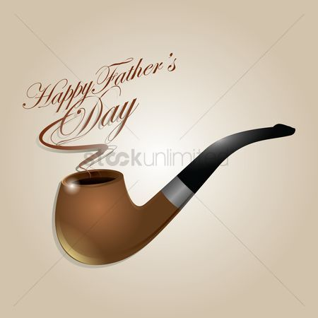 Smoking pipe : Happy father s day wallpaper