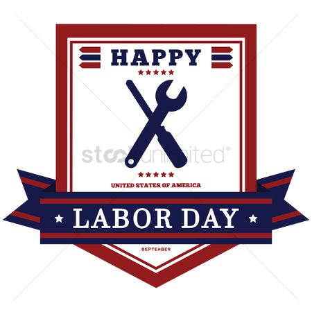 Screwdrivers : Happy labor day invitation