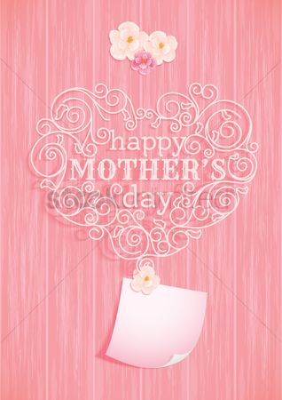 Mothers day : Happy mothers day card